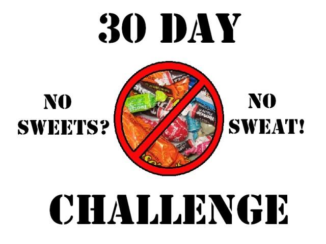 no sweets 30