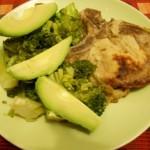 Cotlet cu Broccoli si Avocado