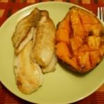 Peste cu Cartof Dulce la Cuptor