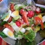 Salata de Ton cu Ou