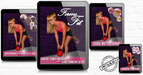 FormeFit-Ghidul Femeii cu Exercitii La Sala