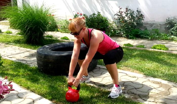 Antrenament cu Exercitii Afara