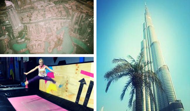Femeia Fit in Dubai