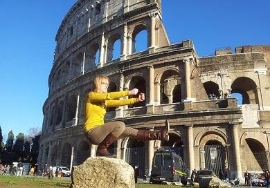Femeia Fit la Roma