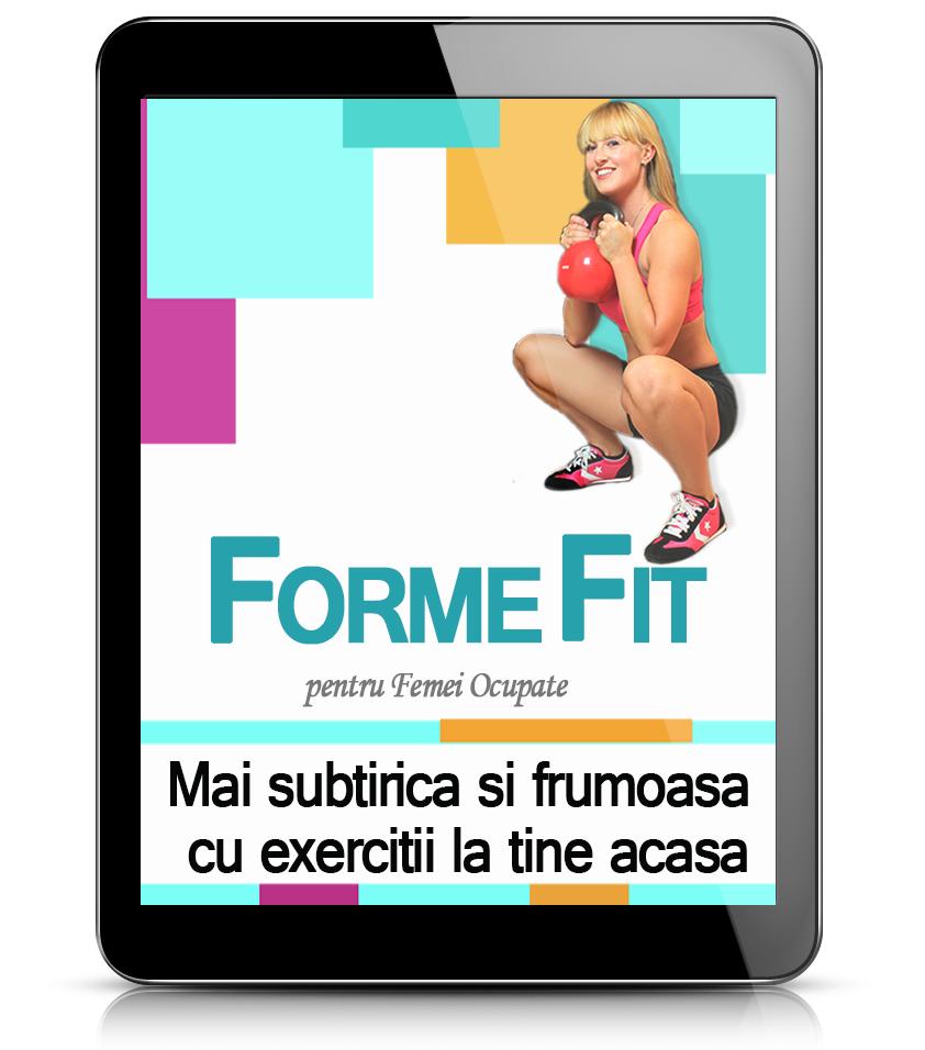 Forme Fit Exercitii de Tonifiere Acasa