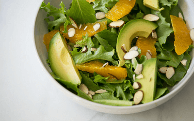 mese pentru slabit - salata de avocado