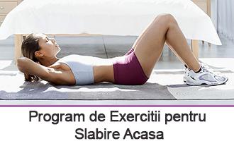 Program Exercitii Slabire Acasa